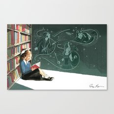 I Dissent: Library Canvas Print