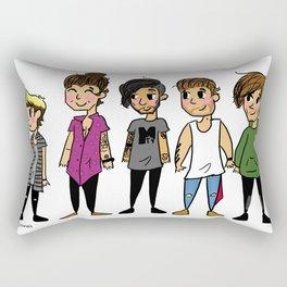 Mini Direction Rectangular Pillow