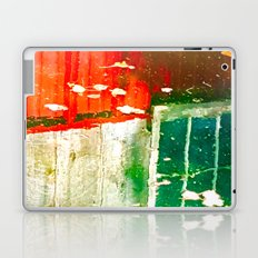City Aflame and Drowning Laptop & iPad Skin