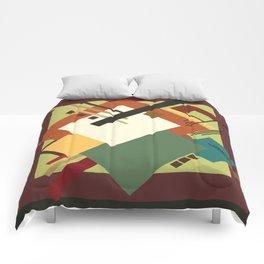 Geometric illustration 1 Comforters