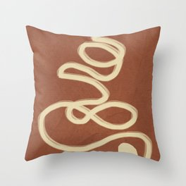 Abstract Lines I Throw Pillow