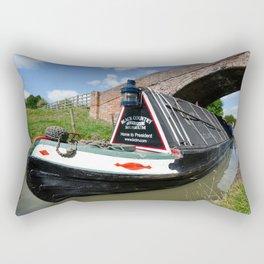 Narrow boat President Rectangular Pillow
