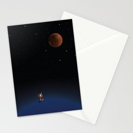 The Red Moon Stationery Cards