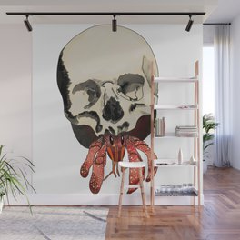 Brutal Hermit Skull Wall Mural