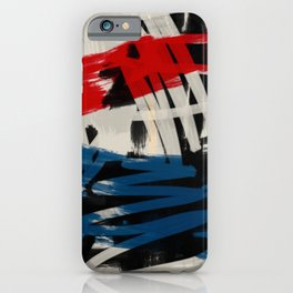 French Expressionist Abstract Art iPhone Case