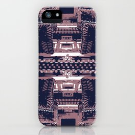 The Buddhist Temple iPhone Case