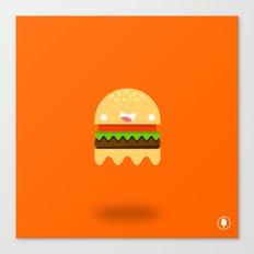 Ham-Boo-ger Canvas Print