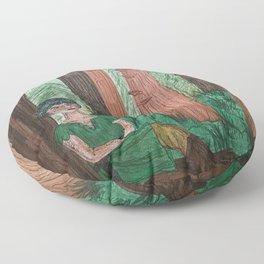 Elven Forest Floor Pillow
