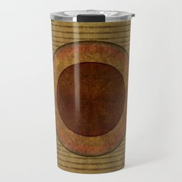 """Golden Circle Japanese Vintage"" Travel Mug"