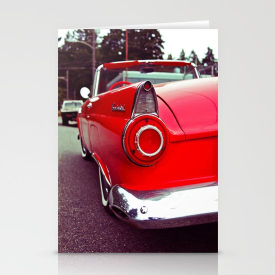 Nostalgic red Stationery Cards