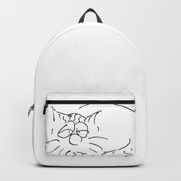 Sleepy Cat Backpack