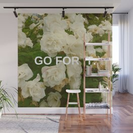 Go For It Wall Mural