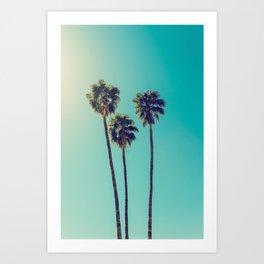 Palms Away - Study 43 Art Print