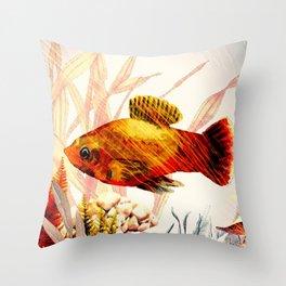 Underwater World **4 Throw Pillow