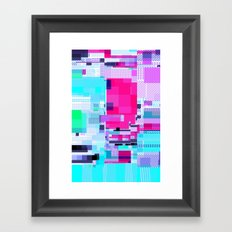 Mapping Framed Art Print