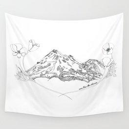 Shasta Poppies Wall Tapestry