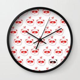 Cool Panda Wall Clock