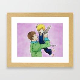 BANANA FISH - Griffin&Aslan (Ash) Callenreese Framed Art Print