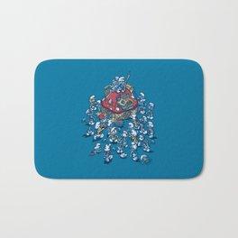 Blue Horde Bath Mat