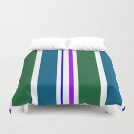 Stripes in colour 3 Duvet Cover