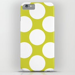 Polka Dots Green iPhone Case
