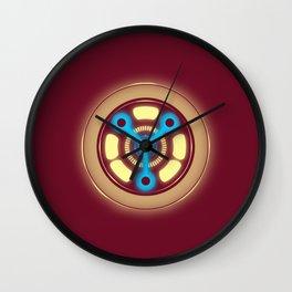 Flux Reactor Wall Clock