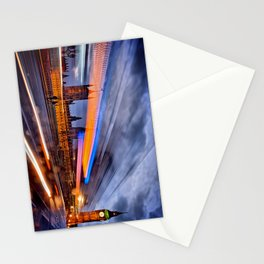 Moving Past Big Ben London Stationery Cards