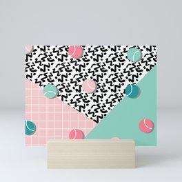 Tennis Pattern #society6 #decor #buyart Mini Art Print