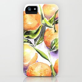 Sweet Clementines iPhone Case