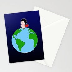Taking over the world Stationery Cards