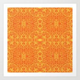 Lace Variation 11 Art Print