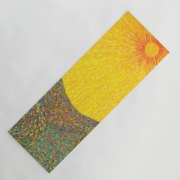 Here Comes the Sun - Van Gogh impressionist abstract Yoga Mat