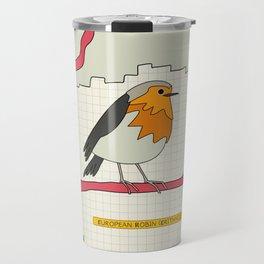 European Robin Travel Mug