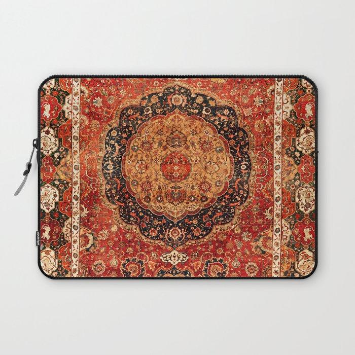 Seley 16th Century Antique Persian Carpet Print Laptop Sleeve