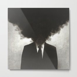 Confessions of a Guilty Mind. Metal Print