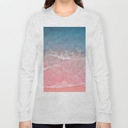 Bahamas pink blue Long Sleeve T-shirt