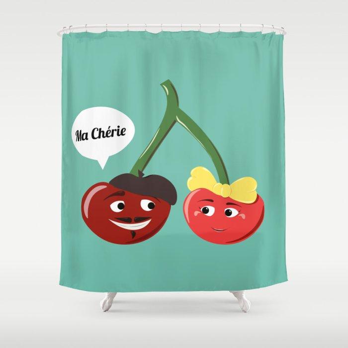 Ma Chérie Shower Curtain