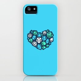 Heart of a Dungeon Master iPhone Case