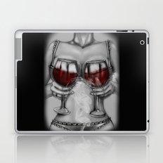 red wine Laptop & iPad Skin