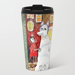Girl & Wolf Travel Mug