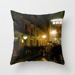 Nights in Bilbao Throw Pillow