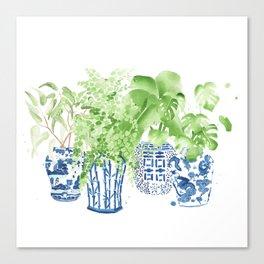 Ginger Jars no. 2 Canvas Print