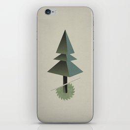 Triangle Tree iPhone Skin