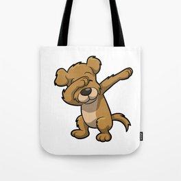 Funny Dabbing dog print - perfect gift for kids Tote Bag