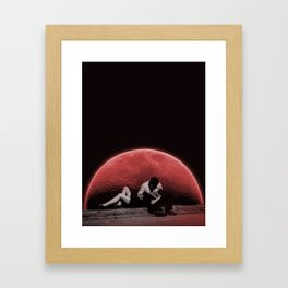 Hold Me When The World Ends Framed Art Print