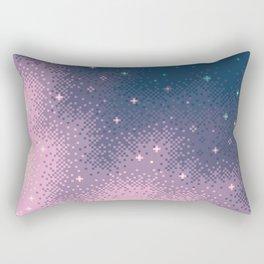 Lilac Nebula (8bit) Rectangular Pillow