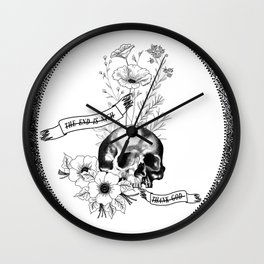 The End Is Nigh Wall Clock