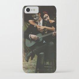 Dia de los Muertos Romance iPhone Case