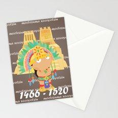 Moctezuma Xocoyotzin Stationery Cards
