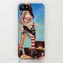 Merciless Tattooed Pirate queen  iPhone Case